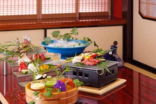 冬の恵みと兼六園を魅惑の個室で満喫するコース々買ってお好みの料理で愉しむプラン
