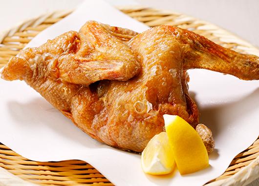 七谷地鶏の唐揚げ