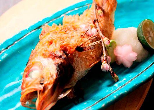 おすすめ鮮魚の炉端焼き