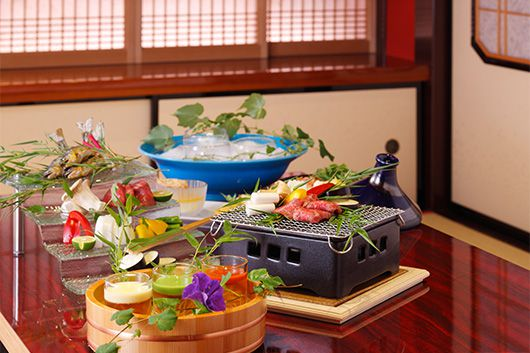 春の恵みと兼六園を魅惑の個室で満喫するコース々買ってお好みの料理で愉しむプラン