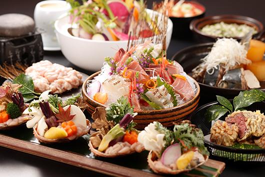 夏の日本海の幸を楽しむ100分飲み放題付きオールコミコミプラン