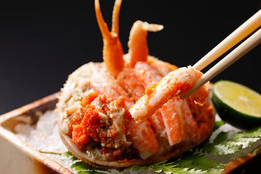 ずわい蟹も香箱蟹もとことん蟹を愉しむプラン