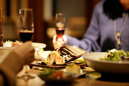 ワインとのペアリングプラン