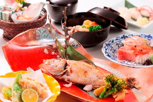 ずわい蟹と香箱&地酒のコース