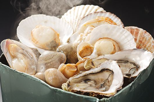 職人が焼くおいしい焼き貝を地酒ビュッフェと共に楽しむプラン