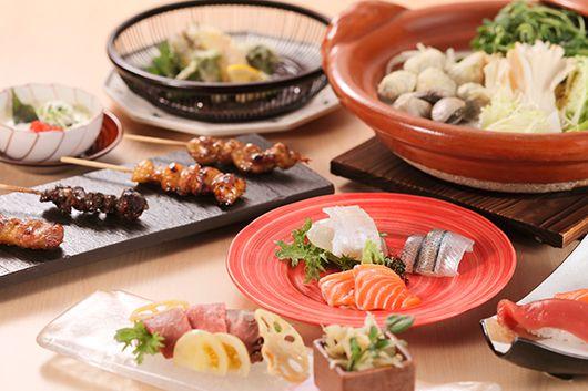 あったか鍋とお造り・串の宴会コース
