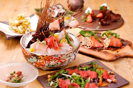 今夜は寿司と串パーティ ぜいたくに蟹鍋も歓送迎会プラン100分飲み放題付きオールコミコミプラン