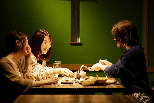 完全個室ですし・串・ワインの女子会プラン